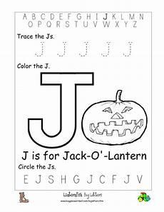worksheets with the letter j 24549 letter j alphabet worksheets