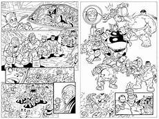 coloring pages squad free printable marvel