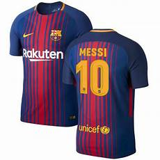 nike fc barcelona 2017 2018 home messi 10 soccer jersey