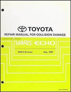 online car repair manuals free 2004 toyota echo electronic valve timing toyota echo and yaris body manual 2000 2001 2002 2003 2004 2005 repair service ebay