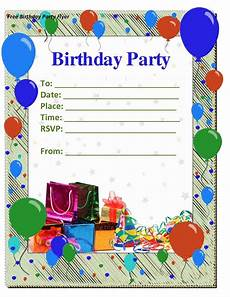 birthday card layout for word birthday invitations templates word best ideas