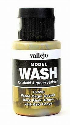 vallejo paint 76520 dark khaki green wash 35ml for sale online ebay