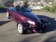 Sell Used 1999 Plymouth Prowler Purple Unique Replica