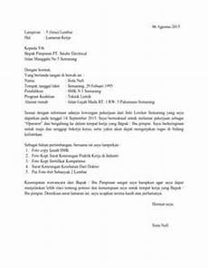 7 surat lamaran kerja akuntansi dalam bahasa inggris contoh lamaran kerja dan cv pinterest