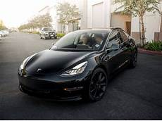 tesla model 3 black black on black model 3 teslamotors