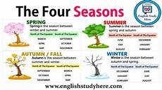The Four Seasons Study Here