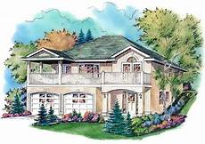 uphill slope house plans plan no 136113 just right for a lot with an uphill