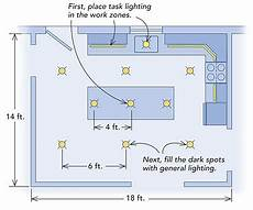 how far should recessed lights be from cabinets mail cabinet