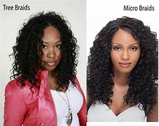 Micro Braids Vs Crochet Braids 12 outclass tree braids styles you may try now