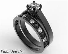 unique alternating black and white diamond wedding ring ebay