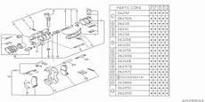 25151ga110 Genuine Subaru Bracket Lh