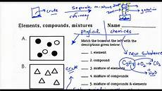 lecture 1 6 classification of matter worksheet applied to youtube