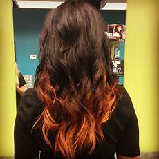 brunette ombre hair ombre hair 22 fiery red ombre hair color ideas