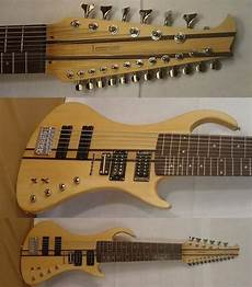 Guitar 6 String Bass And 12 String Guitar All On One