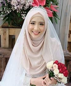 10 Ide Model Jilbab Pengantin Muslimah Syari Onocean Shore