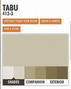 ppg porter tabu paint color scheme paint color schemes