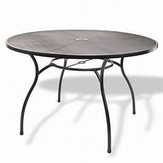 gartenm 246 bel metall 1 x tisch rund 120x71 4 x stuhl set