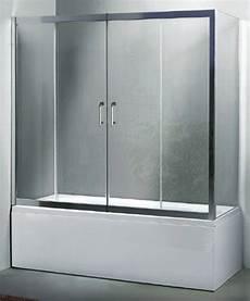 box vasca bagno box vasca a tre lati apertura centrale cristallo 6 mm