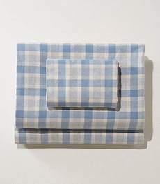 ultrasoft comfort flannel sheet plaid free shipping at l l bean
