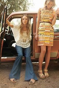 hippie kleidung wie den 70er trend 2018 wieder