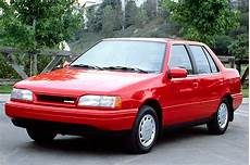 blue book value used cars 1993 hyundai excel windshield wipe control 1990 94 hyundai excel consumer guide auto