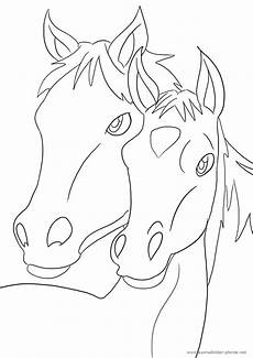 Ausmalbild Pferde Fohlen Ausmalbilder Mit Pferden Kostenlos Malvorlagen Zum