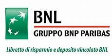 generali conto deposito libretto di risparmio conto deposito vincolato bnl