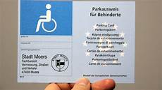 parkausweis für behinderte unbefristet nach der r 252 ckrufaktion neue parkausweise kosten nichts