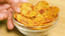 selbstgemachte kartoffelchips