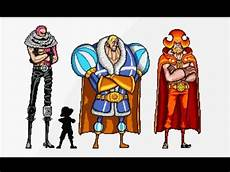 One Piece Anime Size Chart One Piece Character Height Comparison Youtube