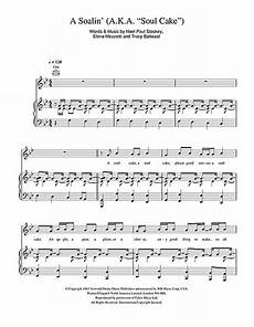 sting a soalin a k a quot soul cake quot sheet music notes chords download folk notes piano