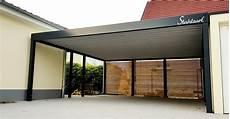 Carport Holz Metall - doppel carport metall holz anbau aue 183 flachdach modern
