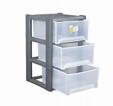 Plastic Drawers On Wheels by Plastic 3 Drawer A4 Tower Storage Unit W Rear Wheels