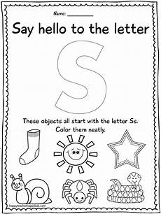 free printable letter a worksheets for pre k 23710 letter s with images preschool letter s