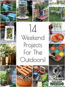 so creative 14 diy outdoor weekend projects