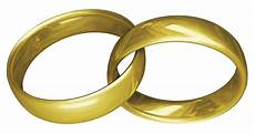the wedding rings are a symbol of matrimony as the never