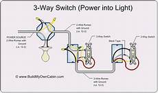 3 way switch power through light 3 way switch wiring diagram