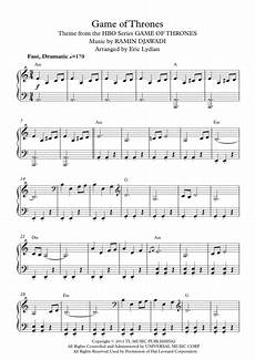 download game of thrones theme easy intermediate piano