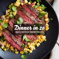 dinner in 20 and easy recipes serious eats