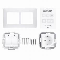 Wifi Smart Light Wall Switch Socket by Wifi Smart Light Wall Switch Socket Outlet 2 Push