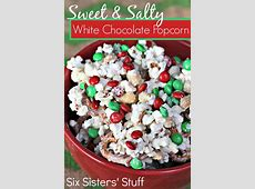 homemade sweet and salty snacks