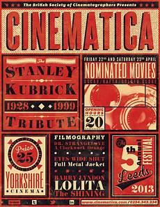 Vintage Cinema Festival Poster Flyer Black Dowload