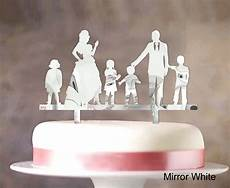 personalized family cake topper custom wedding cake topper