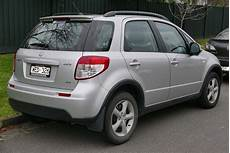 2007 Suzuki Sx4 Gyb 4wd Hatchback Wikipediaosx Flickr