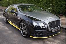 bentley continental gt speed black edition w12 car