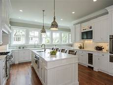 Painted Kitchen Furniture Painting Kitchen Cabinets Antique White Hgtv Pictures