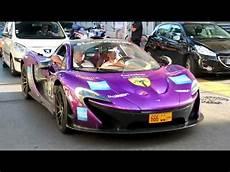 mclaren p1 purple purple mclaren p1 start up and sound