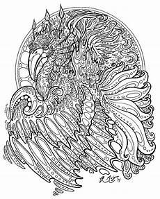 ausmalbilder mandala drachen kinder ausmalbilder