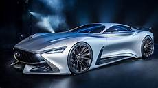 infiniti unveils real world vision gt supercar concept