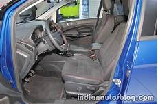 ford ecosport st line front seats at iaa 2017